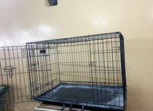 Folding Metal Cage - Double Door قفص