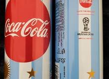 علب كوكاكولا بمناسبة كأس العالم