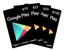 جميع بطاقات جوجل بلاي بأسعار مميزة