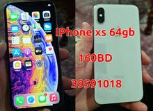 IPhone xs 64GB White Clean Box and charger 150bd