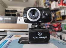 كاميرا ويب هاي كوالتي بدقة عالية الجودة+ مايك حساس جدااا ودقة عالية الجودة