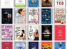 عرض خاص 120 عنوان انجليزي الاكثر شهرة بسعر موحد وكتب جديدة وبجودة عالية