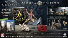 Assassins creed Odyssey Medusa Edition