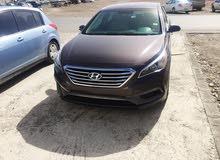 هونداي سوناتا موديل 2016 للبيع السيارة بحالة الوكاله بدون اي اعطال الحمدلله