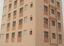 مبنى سكني تجاري من 6 طوابق بالمحج مقابل مركز الجمله