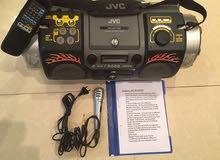 JVC Powered Woofer CD System