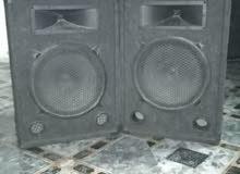 مكسر صوت بحالة الوكالة استخدام شخصي 750 w. مع سمعات عدد2  مع كيبلات