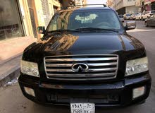 Infiniti QX56 2006 For sale - Black color