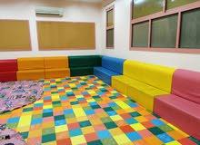 كنب الاطفال المنيز بجميغ المقاسات والالوان حسب الطلب