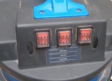 مكنسة كهربائية تلات محركات شفط ماء والغبار