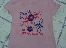 12 y, girl shirt pink color