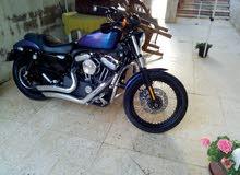هارلي  harley davidson nightster xl 1200 cc model 2010
