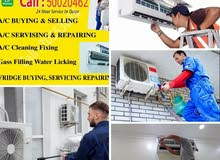 A/c service,  fixing,  repairing,  selling,  and,  buying,
