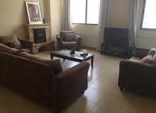 شقة للايجار راقية جدا في اجمل مناطق عبدون، تصنيف خمس نجوم، مساحة275متر مربع ، الطابق الثالث