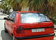 سياره سكودا فليسيا لون احمر دم الغزال موديل 96 بحالة الوكاله . وفي