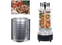 شواية الدجاج واللحم العامودية الكهربائية شواء بدون فحم