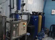 ماكنات محطة مياه ( فلترة وتحية مياه )