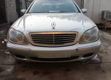 Mercedes Benz S 500 2002 For sale - Silver color