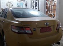 For sale 2010 Yellow Camry