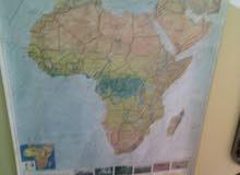 خريطه افريقيا اصليه للبيع