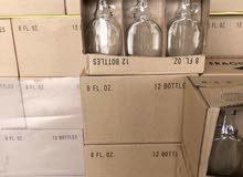 عبوات زجاجية لزيت الزيتون