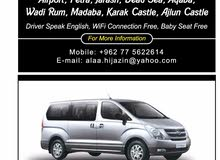 van h1 for rent with driver