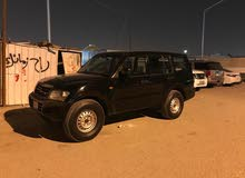 2001 Used Pajero with  transmission is available for sale