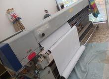 ماكنة طباعة فلكس كورية الصنع قياس مترين ونصف نوع DGI سنة الصنع 2011 (للبيع)