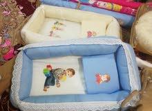 تجهيزات اطفال دوش مندر ومخده فقط جمله صنع عراقي وارخص الاسعار