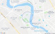 ارض في منطقة ((( العطيفية الاولى )))  قرب مستشفى الكرخ  مساحتها 120 م
