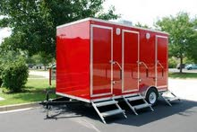 Camping and events portable toilets for rent