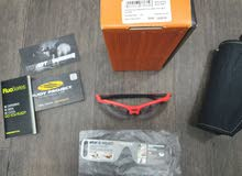 BIKE sunglasses - Rudy Project RYDON/ Orange Fluo with lens