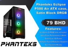 Phanteks Eclipse P500 Air ATX Case Satin Black DRGB