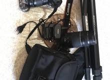 canon 1300d 2 lens tripod