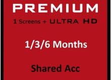 Netflix Premium Account (Shared Account)