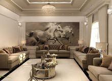 Interiors design and Decoration تصميم و تنفيذ ديكورات
