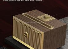راديو اسبيكر بتصميم كلاسيك مميز