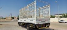 للإيجار نقل عام شاحنه 7طن كريل 8 طن
