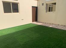 للايجار غرفة وصالة مع حديقة بمدينة ابوظبي قريبة من المشرف مول
