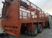 MAN 4×2 2000 WITH CRANE AND TRAILER