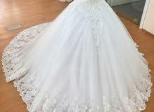 فستان زفاف تركى جديد 0597364552