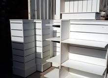 2000 sq.Feet Shop Rack cupboard furniture for sell .one year used good Condition.