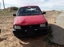 Used condition Toyota Starlet 1994 with +200,000 km mileage