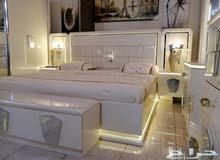 غرفة نوم مع اضاءة رومنسية بسعر منافس