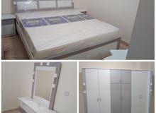غرف نوم 6 قطع جديدة مع التوصيل والتركيب ب 1800