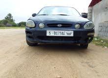 Automatic Black Kia 2002 for sale