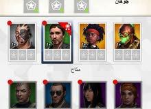 لعبة صقور العرب + حساب كلاش اوف كلانس للبيع عرطه