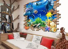 3d DECAL wall stickers HOME DECOR