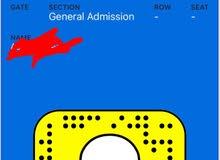 5 tickets for Maluma and Massari Concerts