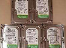 WD green Hard disks 500gb